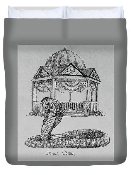 Ocala Cobra Duvet Cover