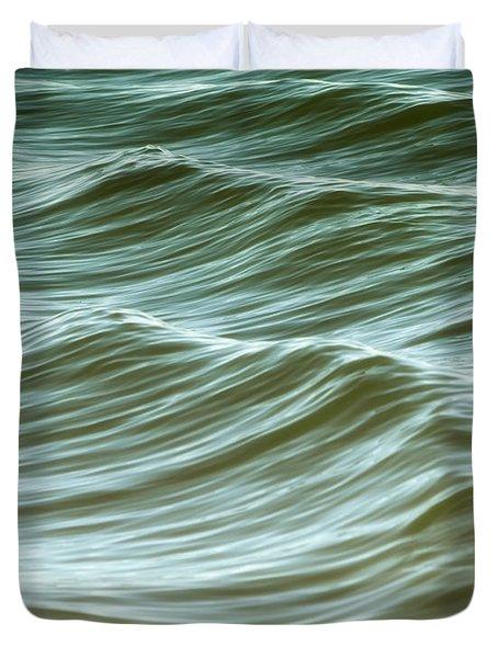 Ocean Abstract I Duvet Cover