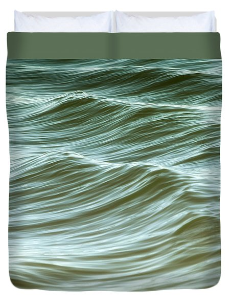 Ocean Abstract I Duvet Cover