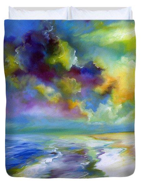 Ocean And Beach Duvet Cover