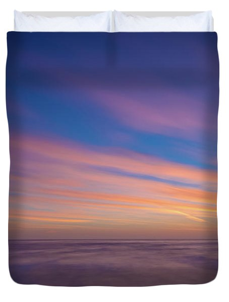 Ocean And Beyond Duvet Cover