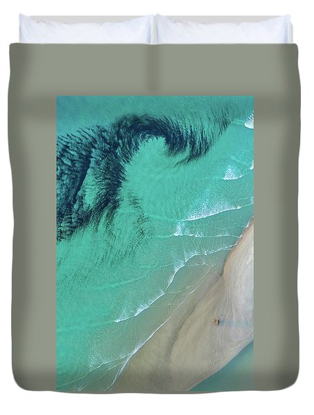 Ocean Art Duvet Cover