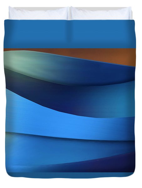 Duvet Cover featuring the photograph Ocean Breeze by Paul Wear