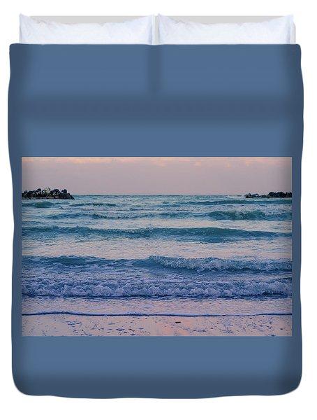 Ocean Calls Duvet Cover by Andrea Mazzocchetti