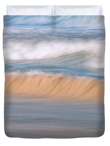 Ocean Caress Duvet Cover
