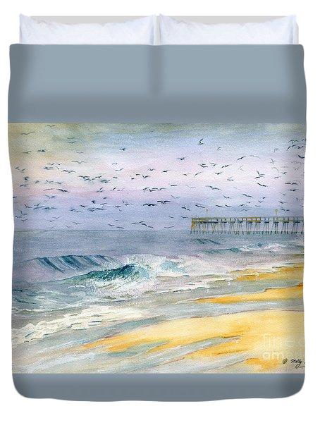 Ocean City Maryland Duvet Cover
