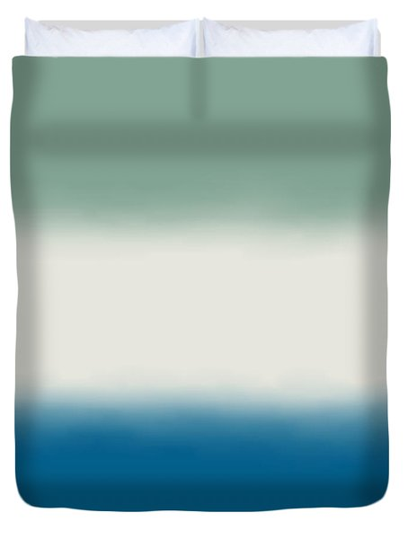 Ocean Colors - Sq Block Duvet Cover