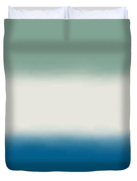 Ocean Colors - Sq Block Duvet Cover