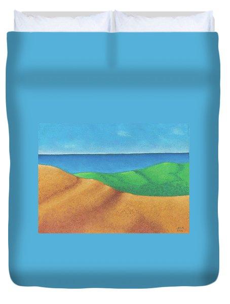 Ocean Daybreak Duvet Cover