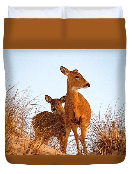 Ocean Deer Duvet Cover