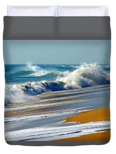 Ocean Delight Duvet Cover by Dianne Cowen