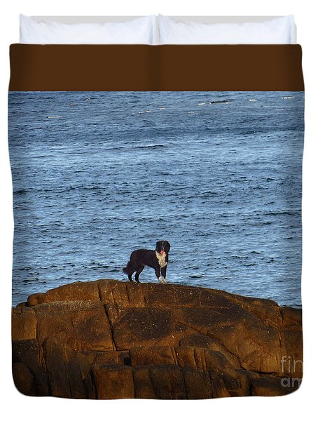 Ocean Dog Duvet Cover