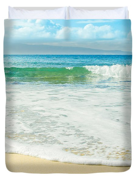 Ocean Dreams Duvet Cover by Sharon Mau