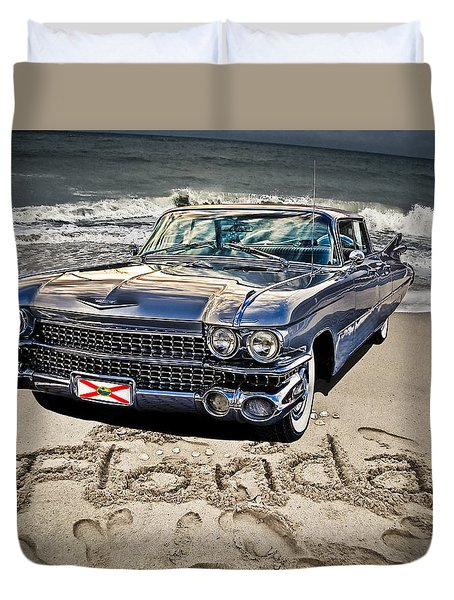 Ocean Drive Duvet Cover by Joachim G Pinkawa