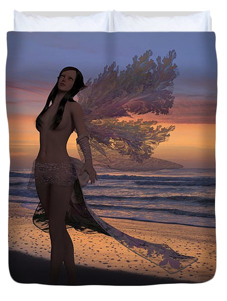 Another Morning Without You Duvet Cover