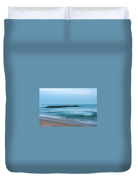 Ocean Flow Duvet Cover