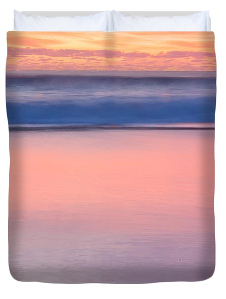 Ocean Glow Duvet Cover