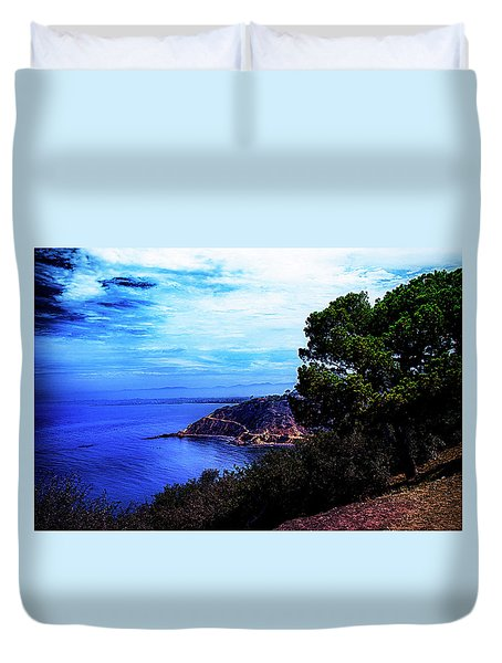 Duvet Cover featuring the photograph Ocean Hill by Joseph Hollingsworth