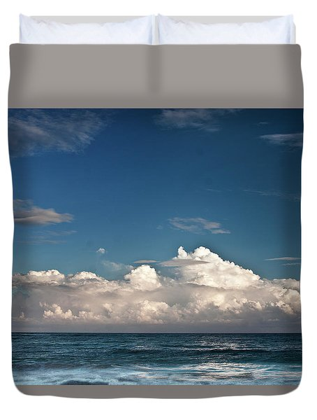 Ocean Horizon Duvet Cover