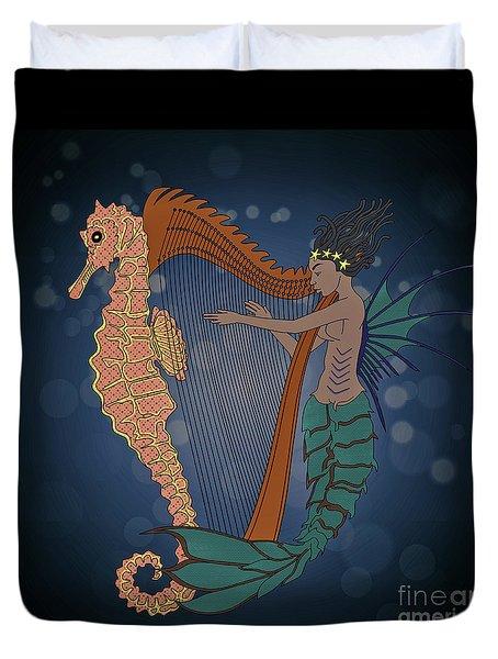 Ocean Lullaby1 Duvet Cover