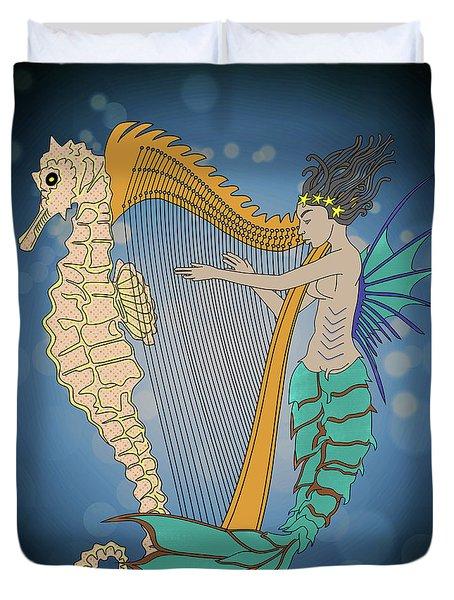 Ocean Lullaby3 Duvet Cover