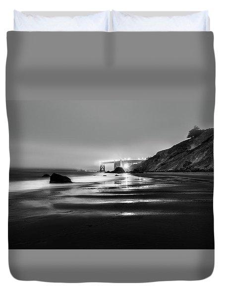 Ocean Rhythm Duvet Cover by Jon Glaser