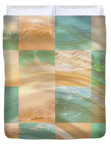 Ocean Ripples Duvet Cover