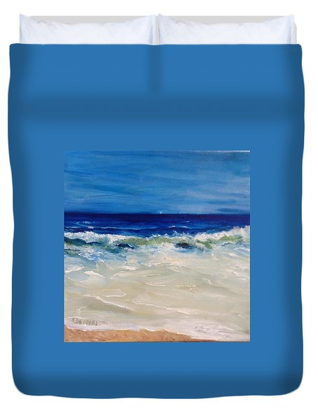 Ocean Roar Duvet Cover