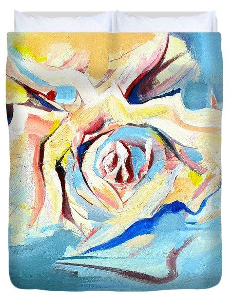 Ocean Rose Duvet Cover