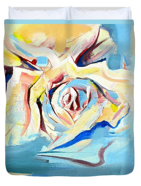 Ocean Rose Duvet Cover