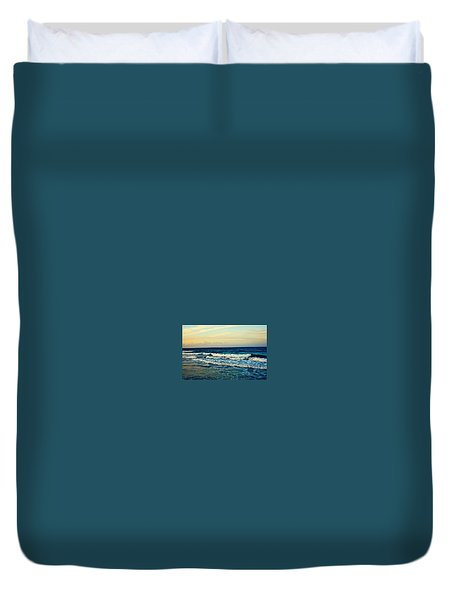 Duvet Cover featuring the photograph Ocean by Artists With Autism Inc