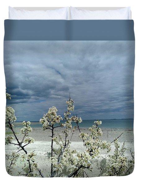 Ocean Spring Duvet Cover