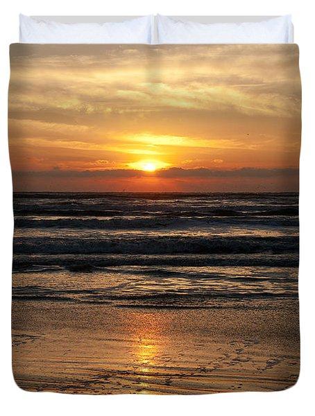 Ocean Sunrise Duvet Cover