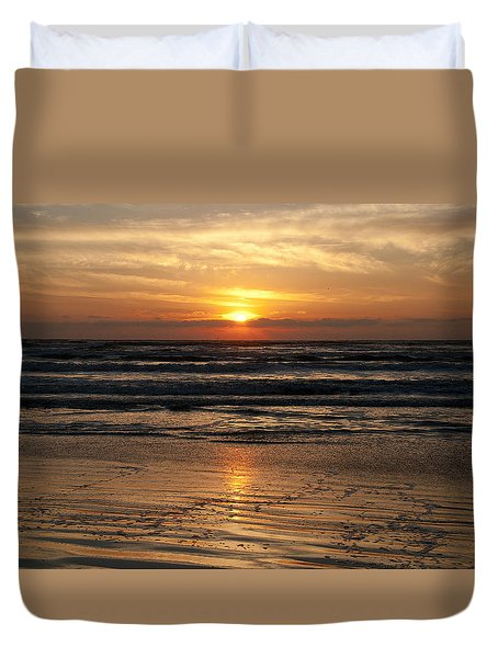 Ocean Sunrise Duvet Cover