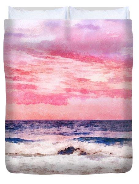 Ocean Sunrise Duvet Cover by Francesa Miller