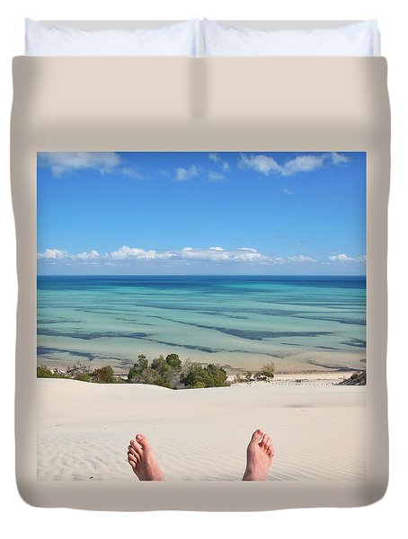 Ocean Views Duvet Cover