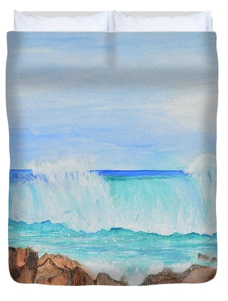 Ocean Wave Duvet Cover