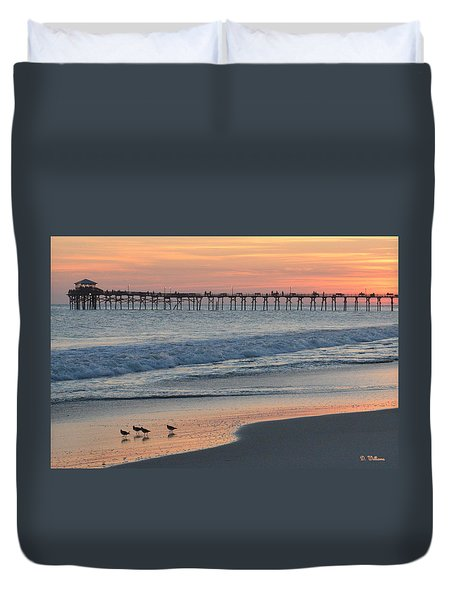 Oceanana Shorebirds Duvet Cover