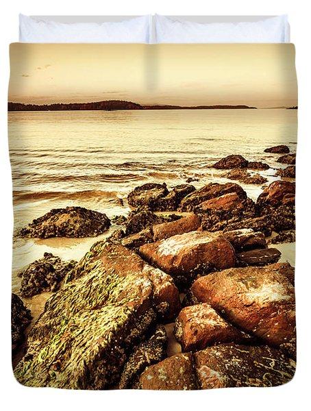 Oceanic Harmony Duvet Cover