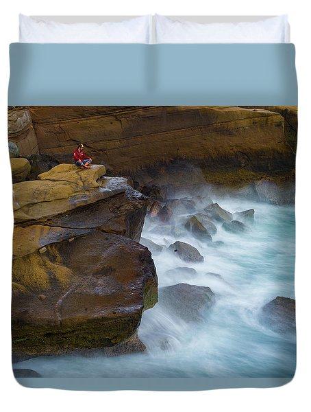 Oceanic Meditation Duvet Cover