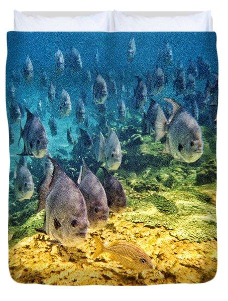 Oceans Below Duvet Cover