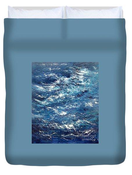 Ocean's Blue Duvet Cover