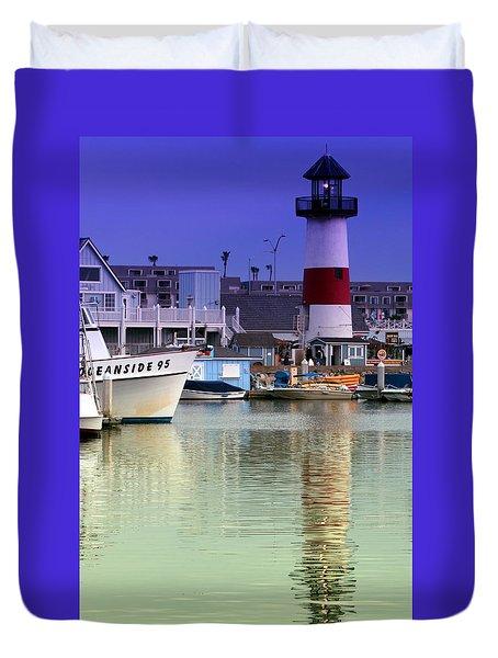 Oceanside Light Duvet Cover