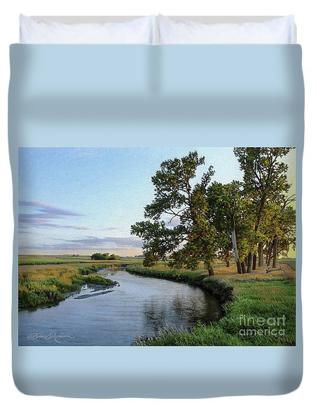 Ocheyedan Evening Duvet Cover