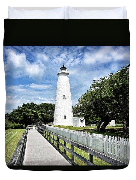 Ocracoke Light Duvet Cover