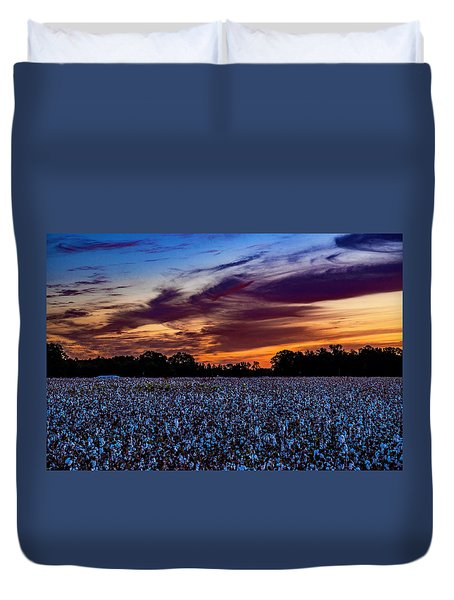 October Cotton Duvet Cover