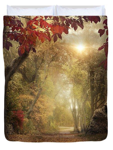 October Dreamer Duvet Cover