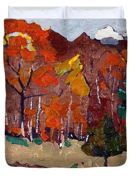 October Forest Duvet Cover