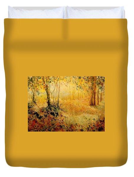 October Glow Duvet Cover