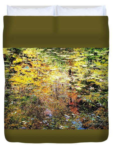 October Pond Duvet Cover